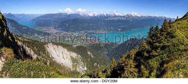 Brienz Interlaken Bernese Oberland Stock Photos & Brienz.