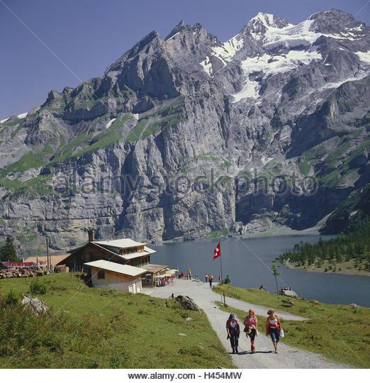 Bernese Oberland Summer Lake Stock Photos & Bernese Oberland.
