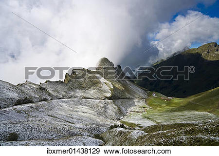 """Stock Photograph of """"Railway line of the Brienz."""