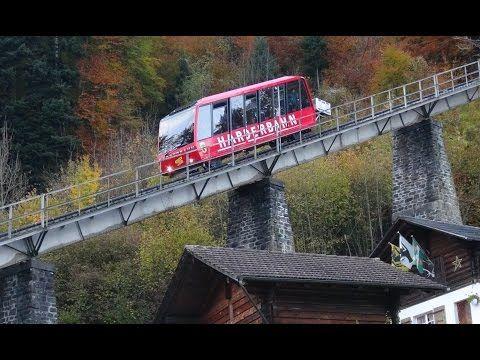 Scenic Switzerland from The Brienz Rothorn Bahn (Cog Railway.