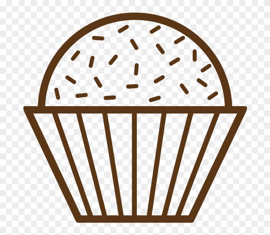 Brigadeiro Cupcake Chocolate Truffle Recipe.