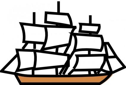 Sailing Ship Clip Art Download.