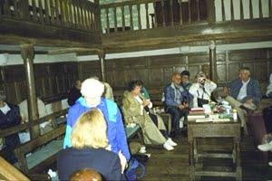 Quaker Tour of England.