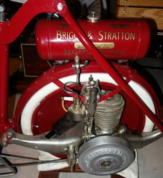 Briggs and Stratton Motor Wheel Scooter.