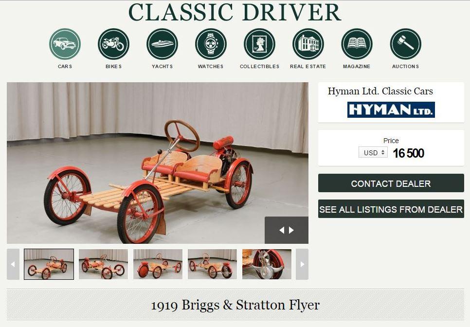 Babone 5GO (2): Briggs & Stratton Flyer.