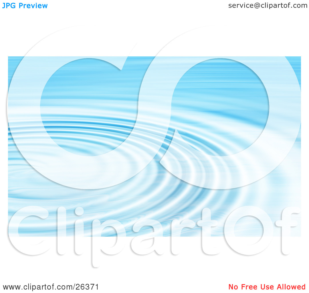 Clipart Illustration of a Background of Bright Blue and White.