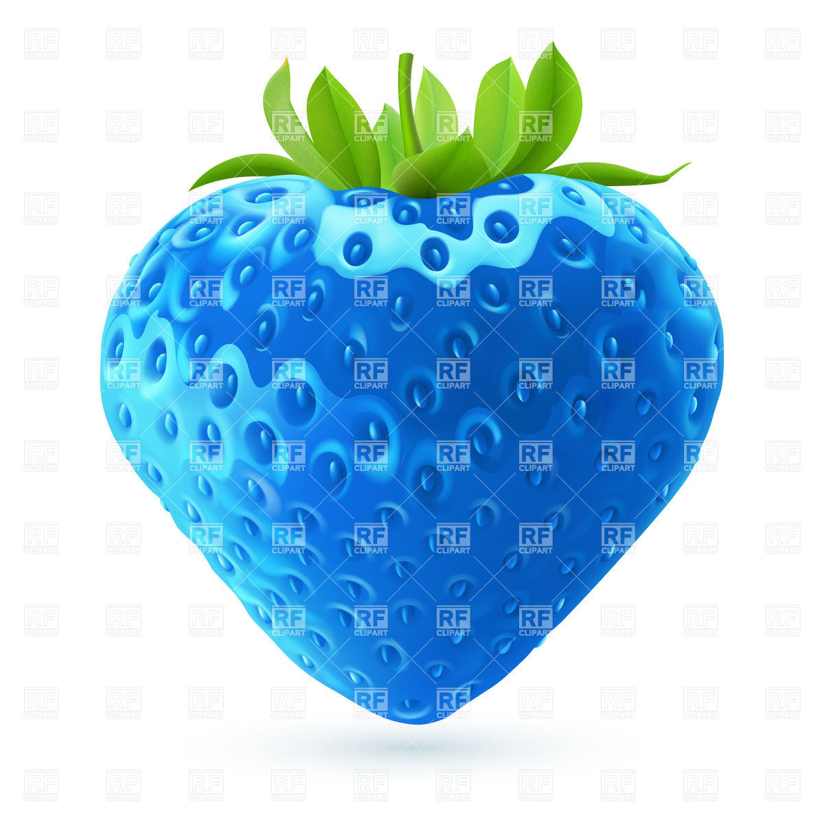 Food Blue Clipart.