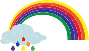 Rain Cloud Clipart Image.
