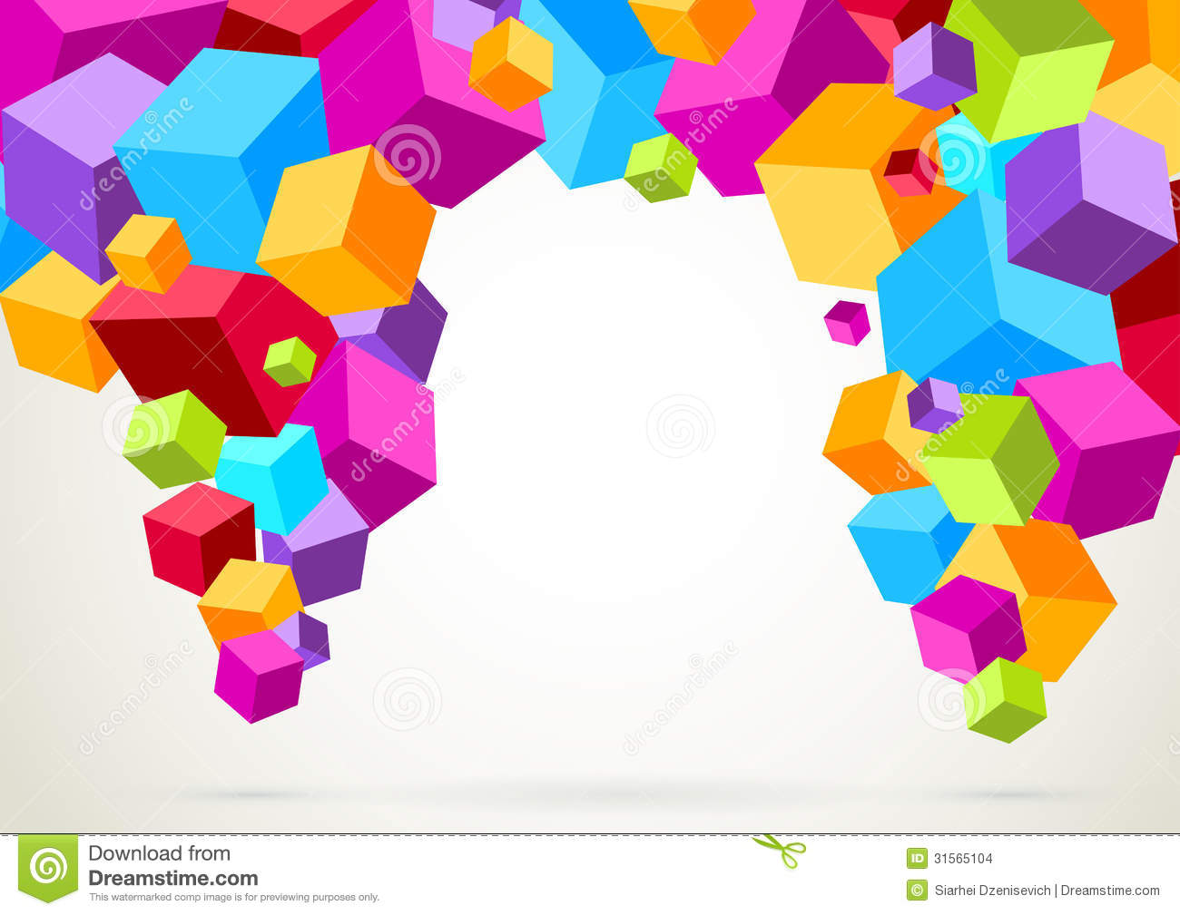 Bright and colorful clipart.