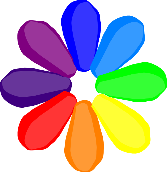 Bright colors flower clipart - Clipground White Daisy Flowers Clipart