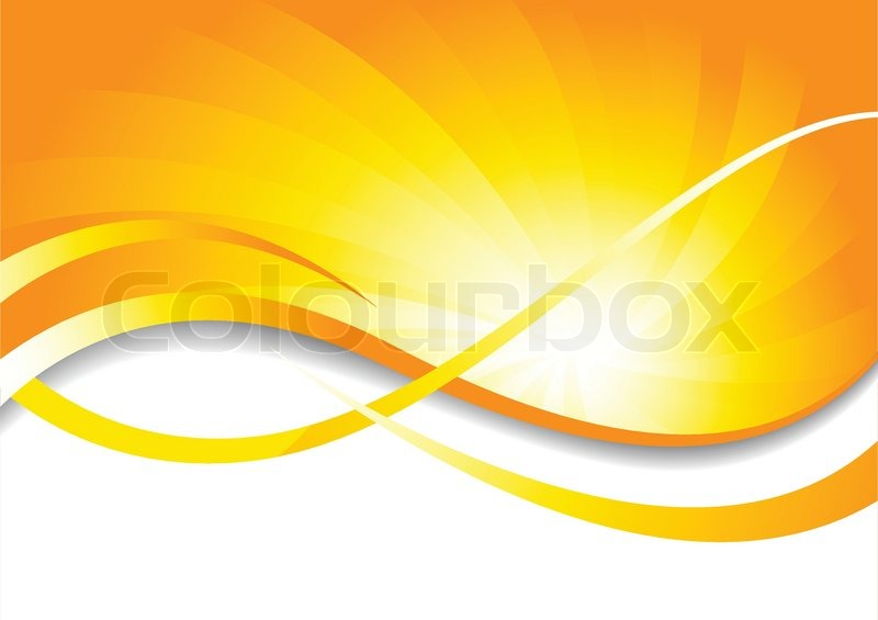 Vector bright background in yellow color clip.