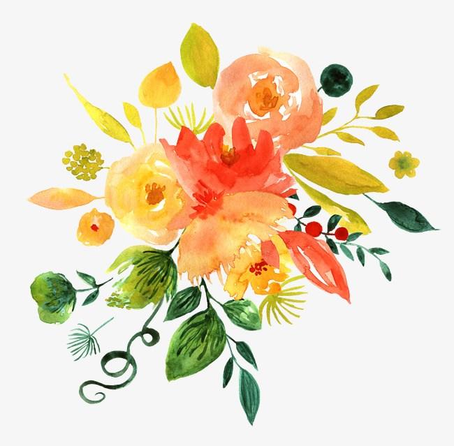 Bright flowers clipart 5 » Clipart Portal.