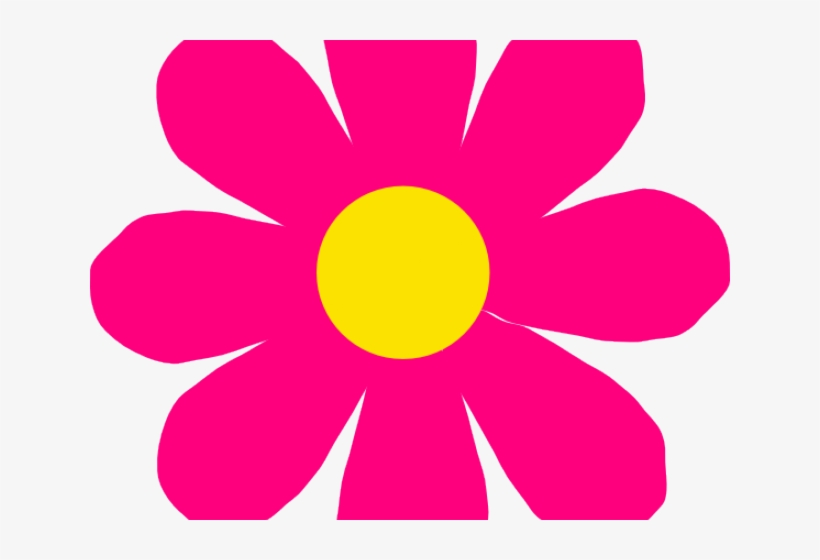 Petal Clipart Bright Flower.