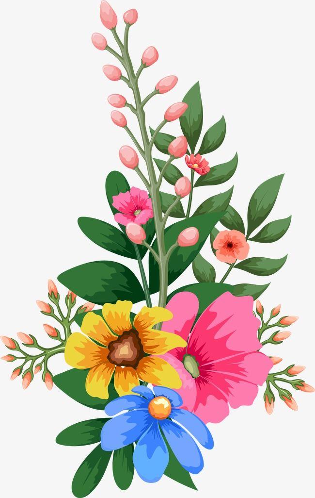 Watercolor Flowers.