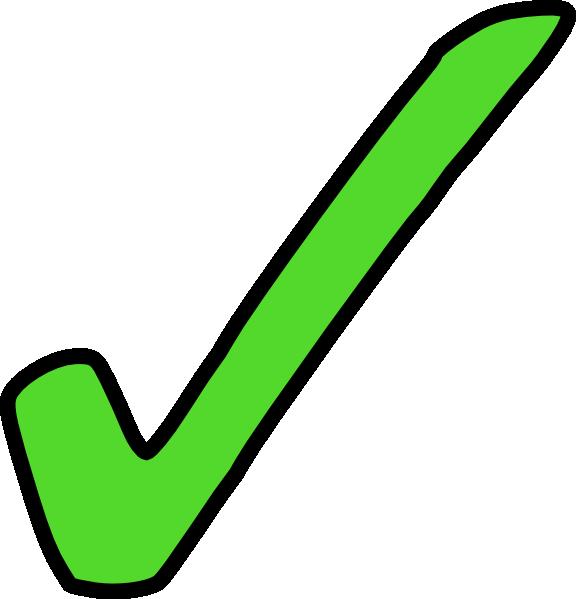 Bright Green Tick Clip Art At Clker Com Vector Clip Art Online.