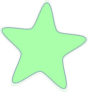 Bright Green Star Clip Art at Clker.com.