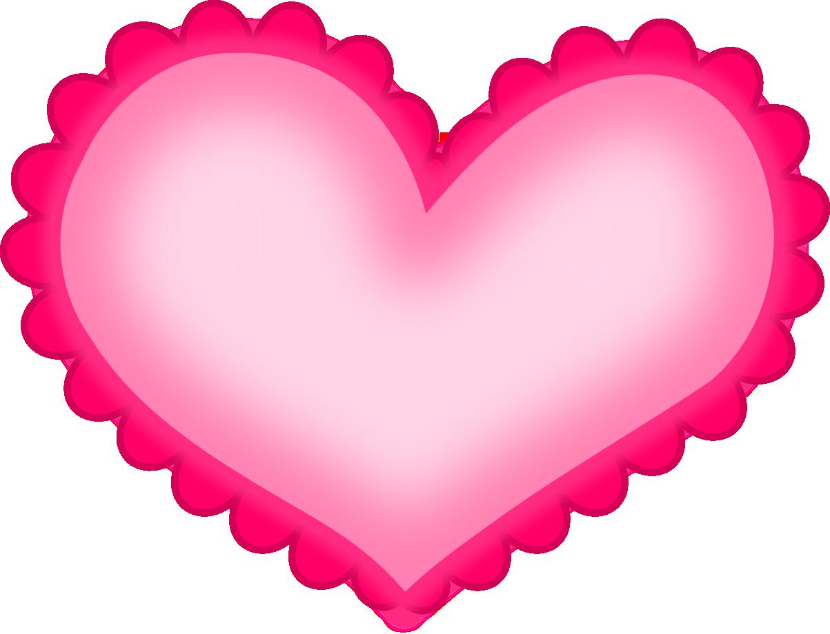 Hot Pink Heart.