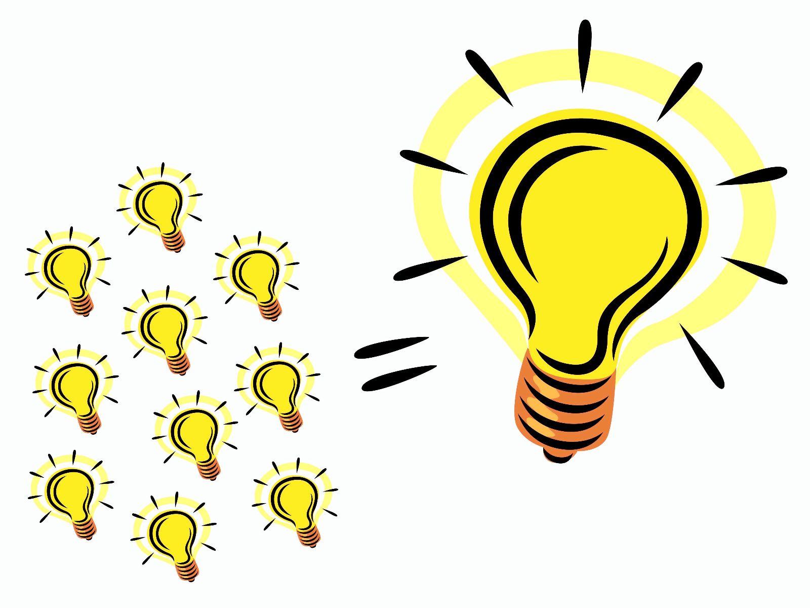 Bright Idea Light Bulb Clip Art N5 free image.