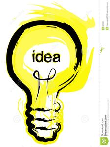 Free Clipart Bright Idea.