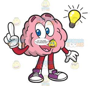 A Brain With A Bright Idea.