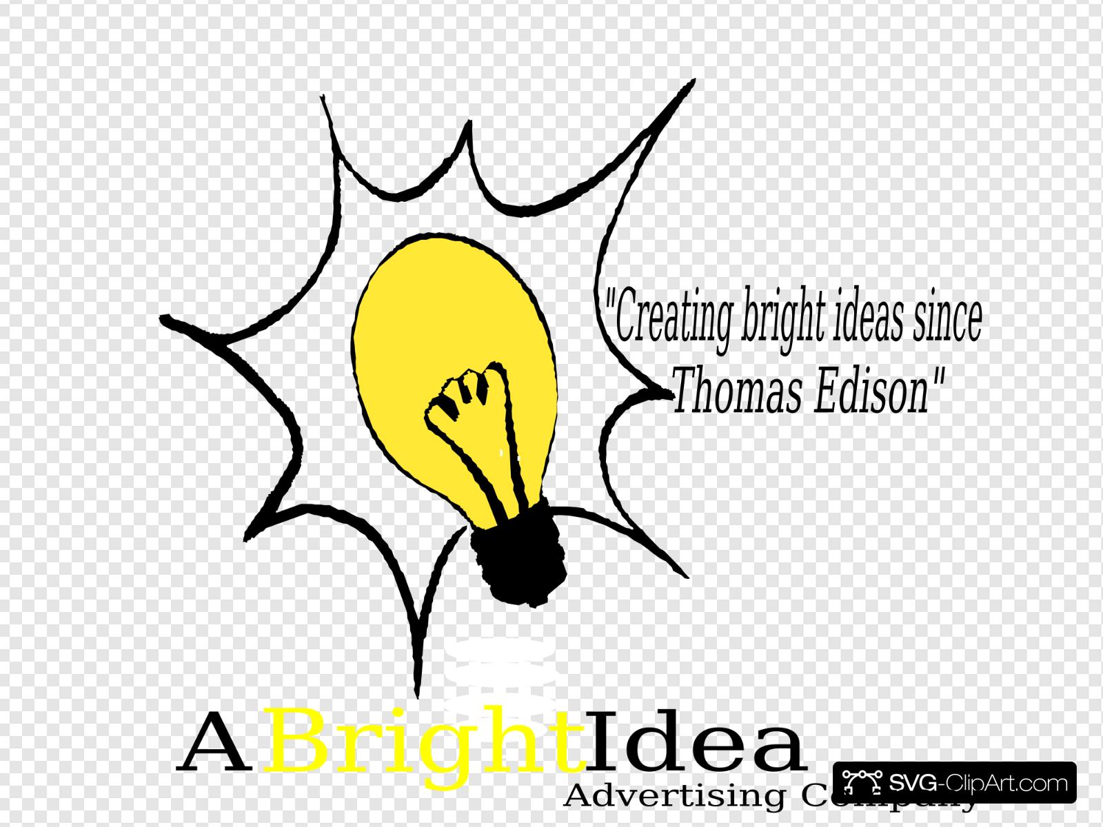 Bright Idea Clip art, Icon and SVG.