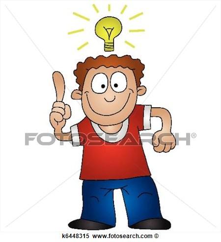 Bright idea Clip Art and.