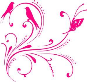 Hot Pink Clip Art.