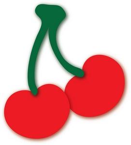 Cherries Clipart Image.
