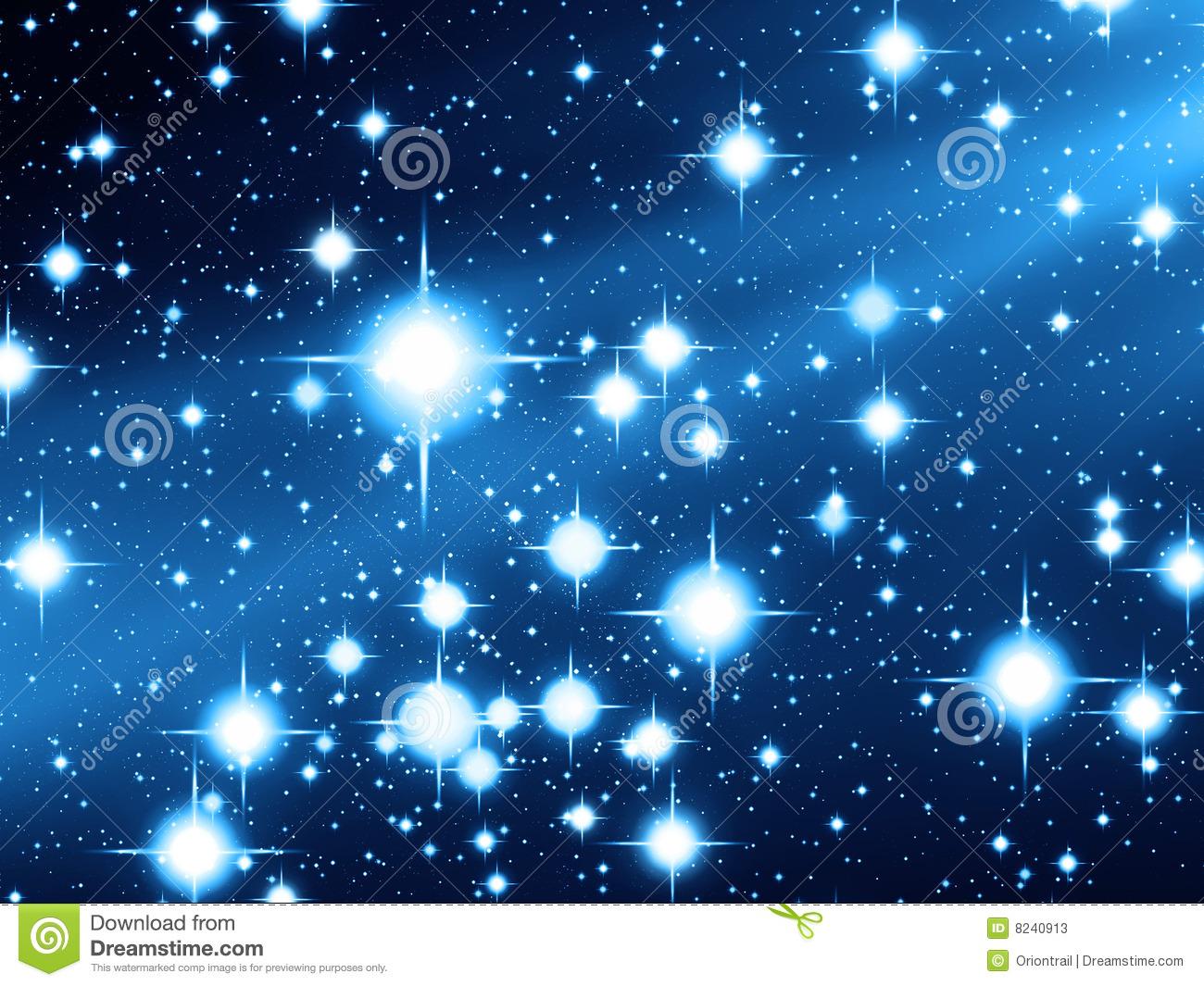 Night Sky Stars Clipart.