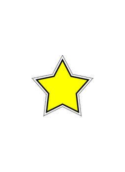 **FREE** Bright Star Clipart.