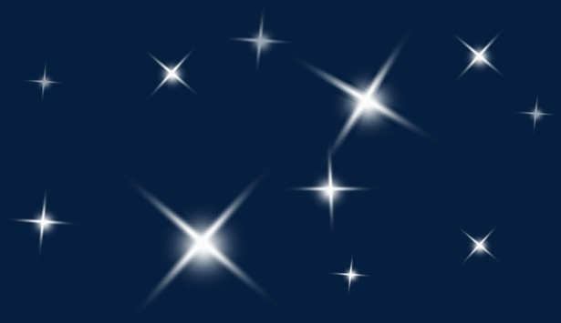 Stars In The Sky, Bright Stars, Starlight, Bright PNG Transparent.