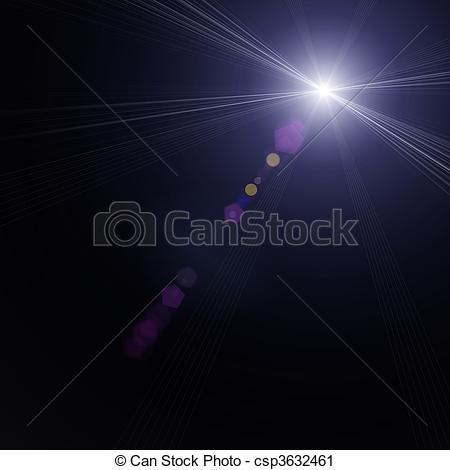 Clipart of starlight.