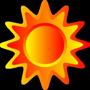 Sunshine sun clipart image clip art a bright sun on a.