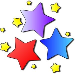 Stars Clipart Image.