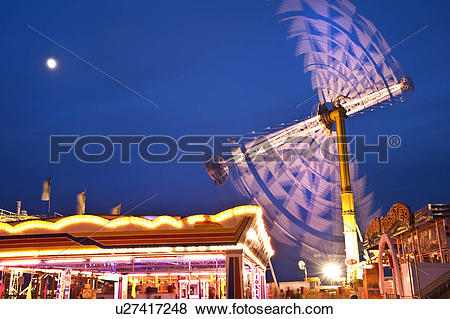 Pictures of England, City of Brighton and Hove, Brighton. Funfair.