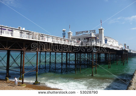 Royalty Free Stock Photos and Images: Brighton Pier in Brighton.