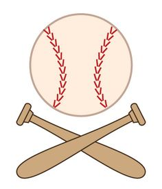 Softball clipart. Free graphics, images & pictures of players, bat.