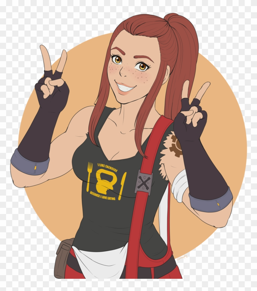 Wait, People Still Think Brigitte Is Op, HD Png Download.
