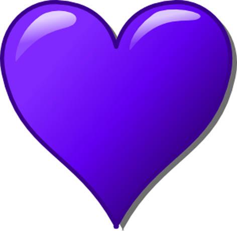 Purple Heart Clip Art.