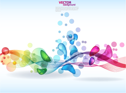 Brilliant color elements vector Free Vector / 4Vector.