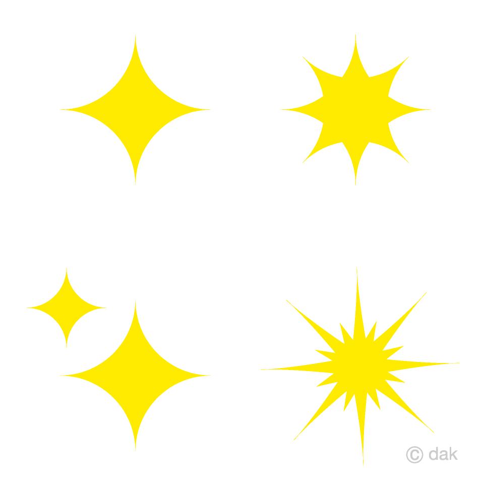 Free Glitter Stars Clipart Image|Illustoon.