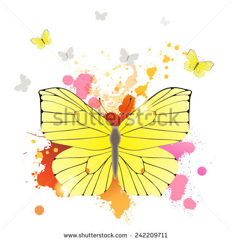Brimstone Butterfly Stock Vectors & Vector Clip Art.
