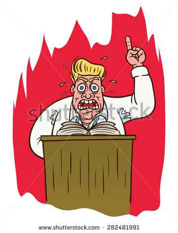 Preacher Stock Vectors, Images & Vector Art.