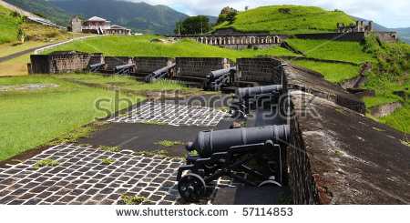 Brimstone Hill Fortress National Park Stock Photos, Images.