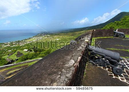 Brimstone Hill Fortress Stock Photos, Royalty.