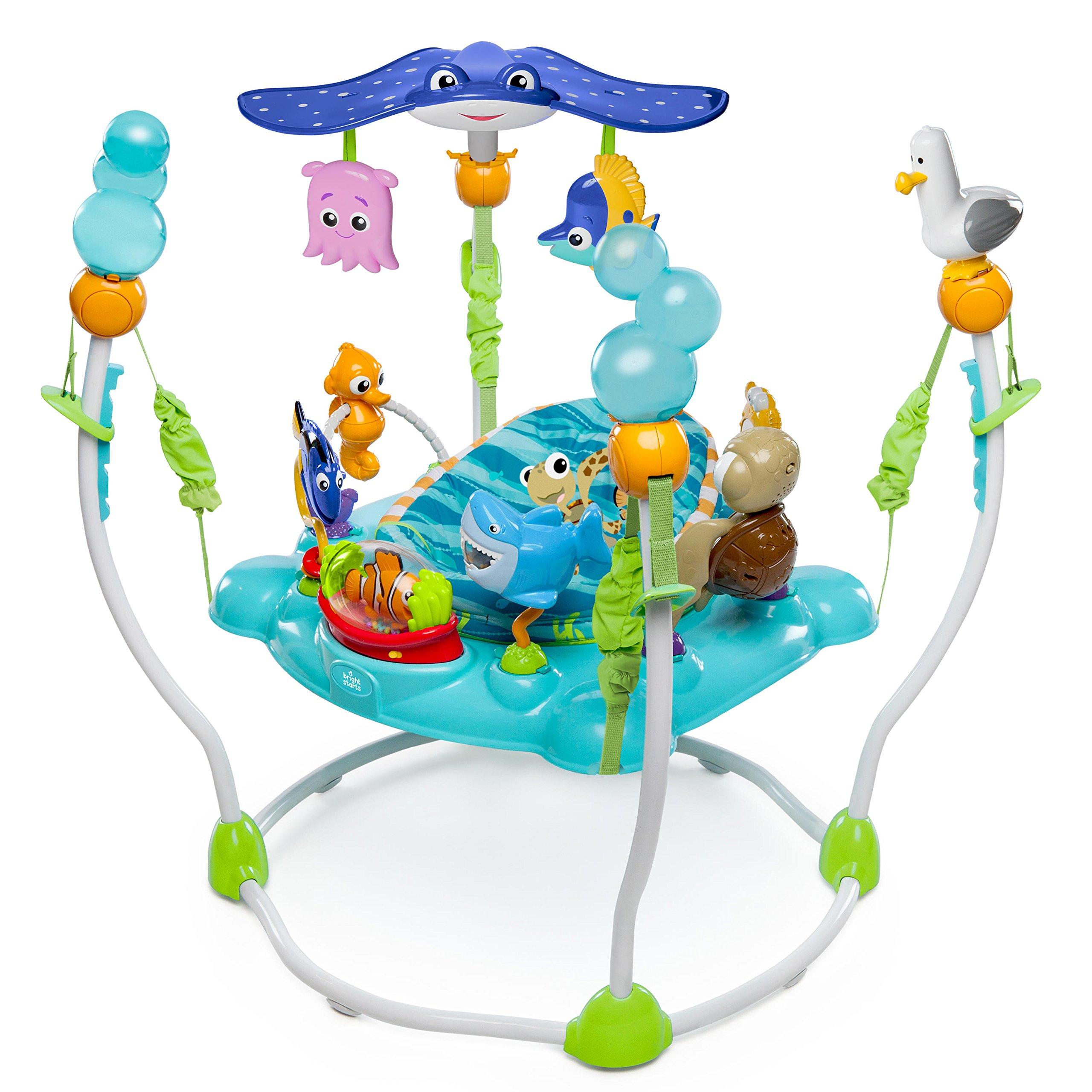 Disney Baby, Saltador y Centro de actividades Buscando a Nemo con más de 13  juguetes, luz y música, 4 alturas regulables.