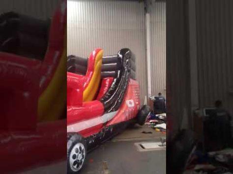 Brincolin inflable camión de bomberos!.