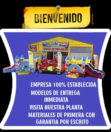 VENTA DE INFLABLES Y BRINCOLINES PRECIOS DE FABRICA.