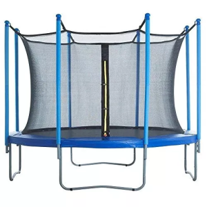 Fuxion sports trampolin brincolin 8 ft (2.43 m) mediano azu.