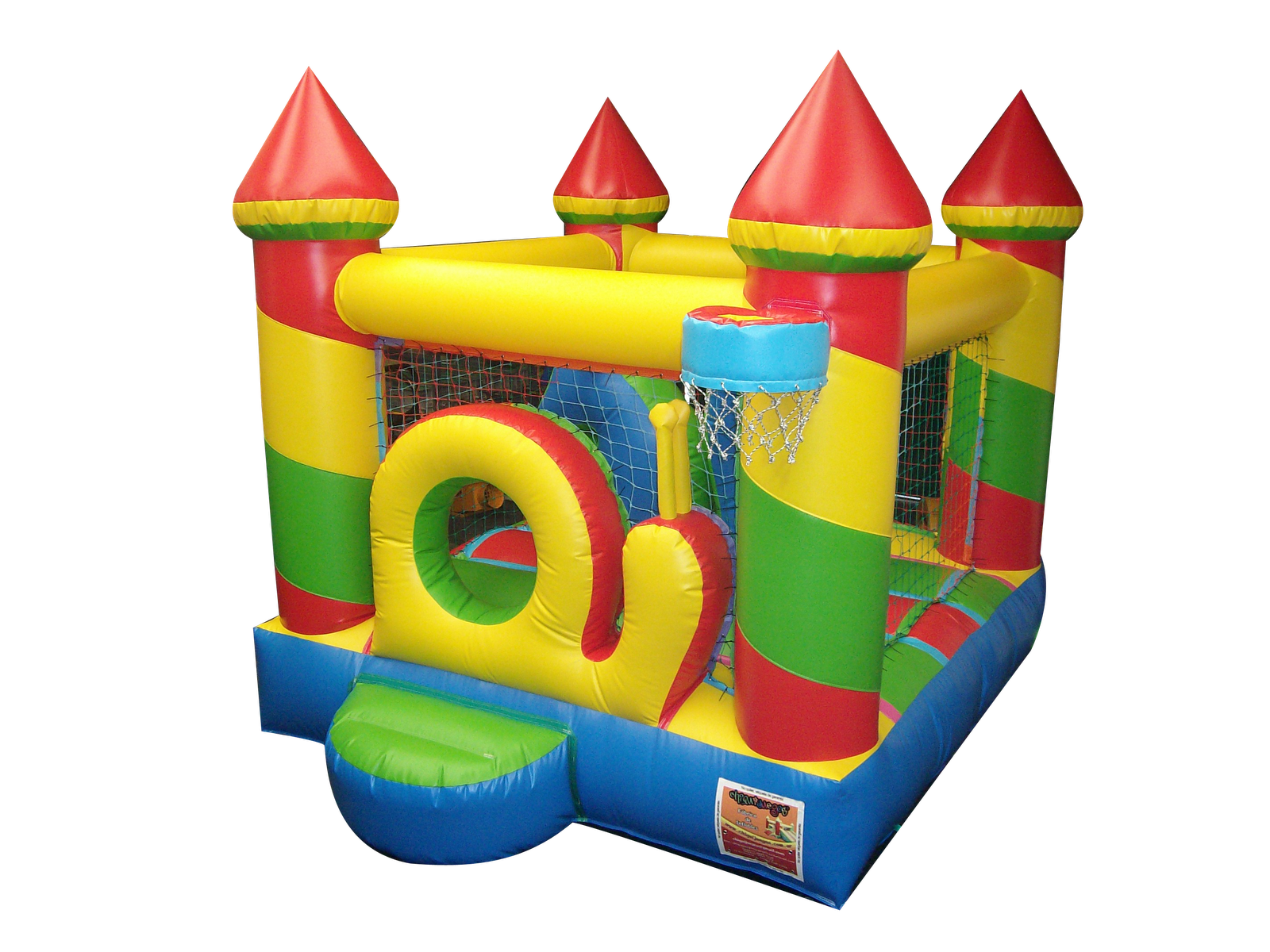 brincolin inflable caramelo 3 x 4.